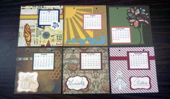 Smaller Calendar